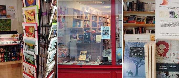 librairie l'Antidote - Parthenay